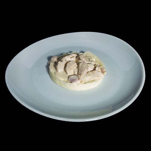 Курочка в сливочном соусе