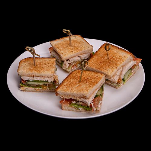 Мини сендвич с цыпленком