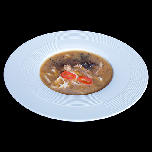 Китайский суп с телятиной
